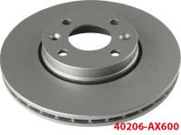 40206-AX600 передний тормозной диск