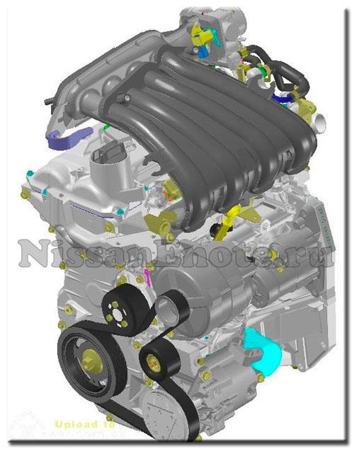 двигатель Ниссан Ноут