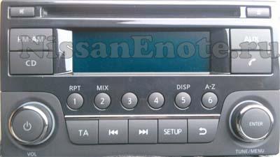 штатная магнитола Nissan Note - DAEWOO