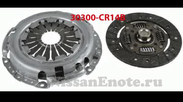 30300-CR14B комплект сцепления  ниссан ноут 1.4