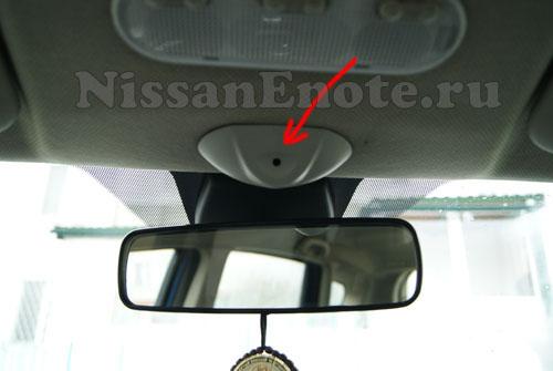фото как подключить телефон к штатной магнитоле Ниссан Ноут