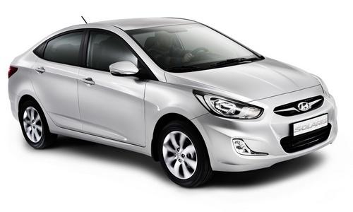 Самый популярный автомобиль в России - Хундай Солярис